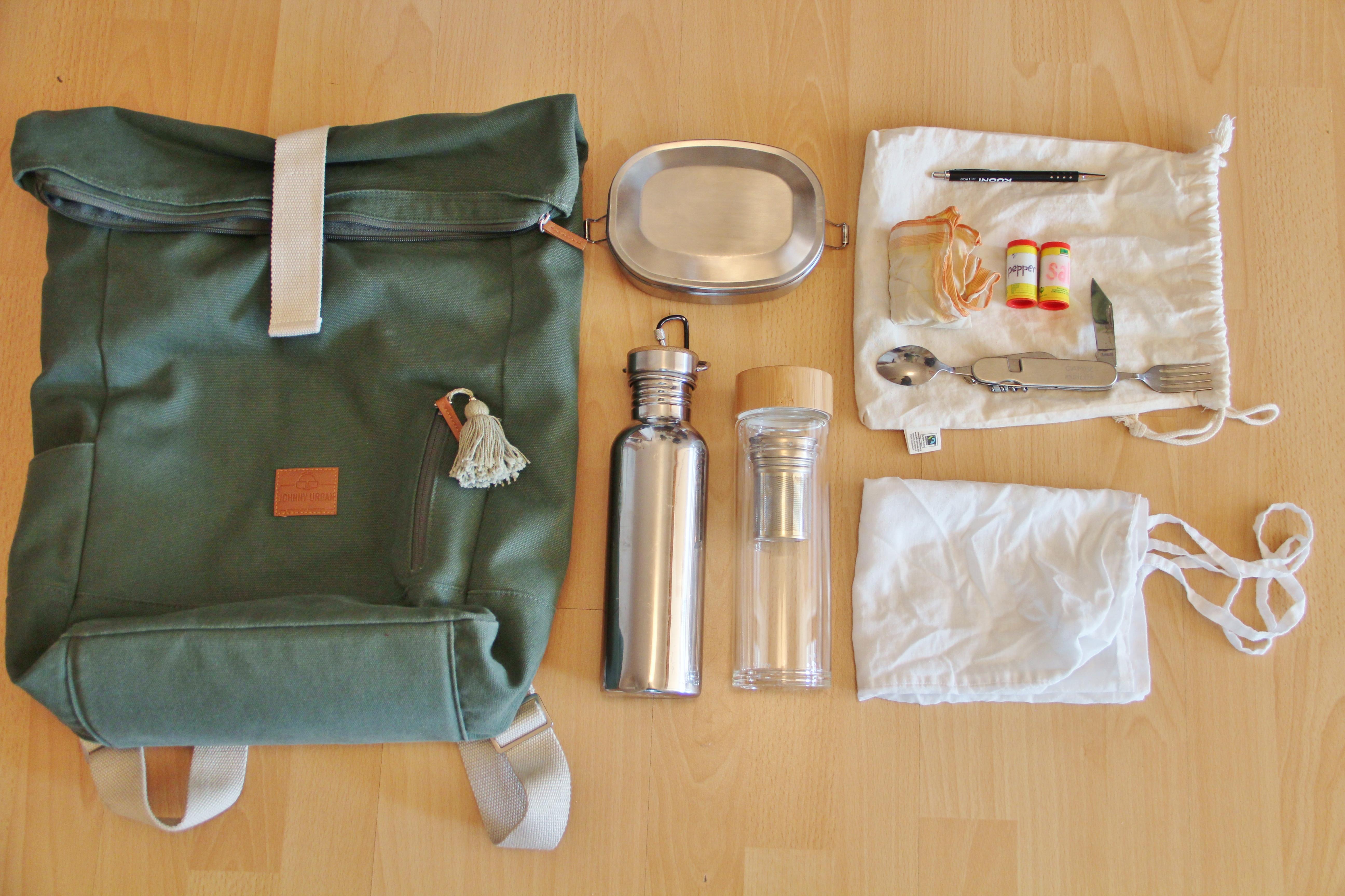 Zero Waste unterwegs und auf Reisen