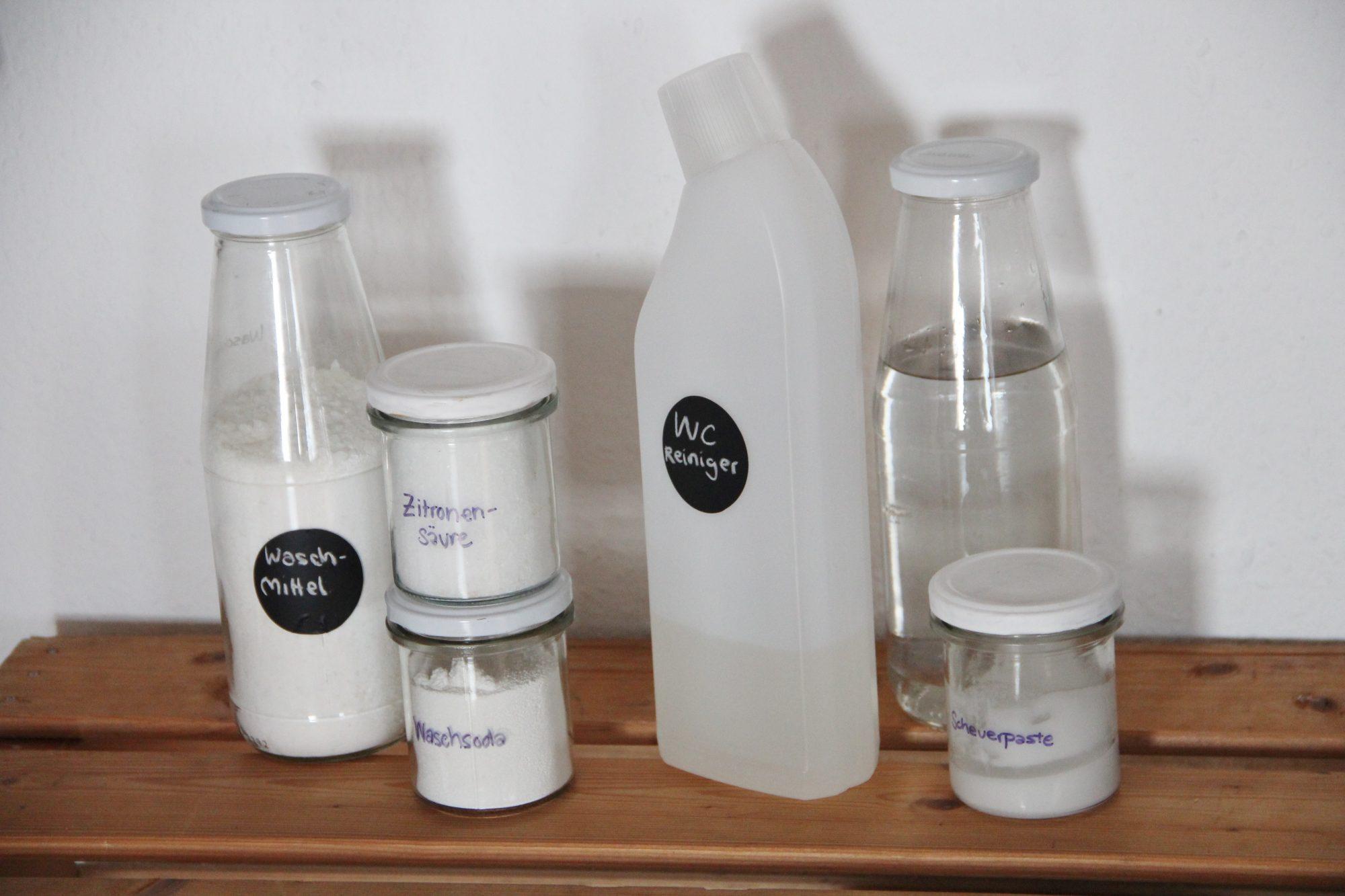 Putzmittel selber machen – umweltfreundlich und Zero Waste