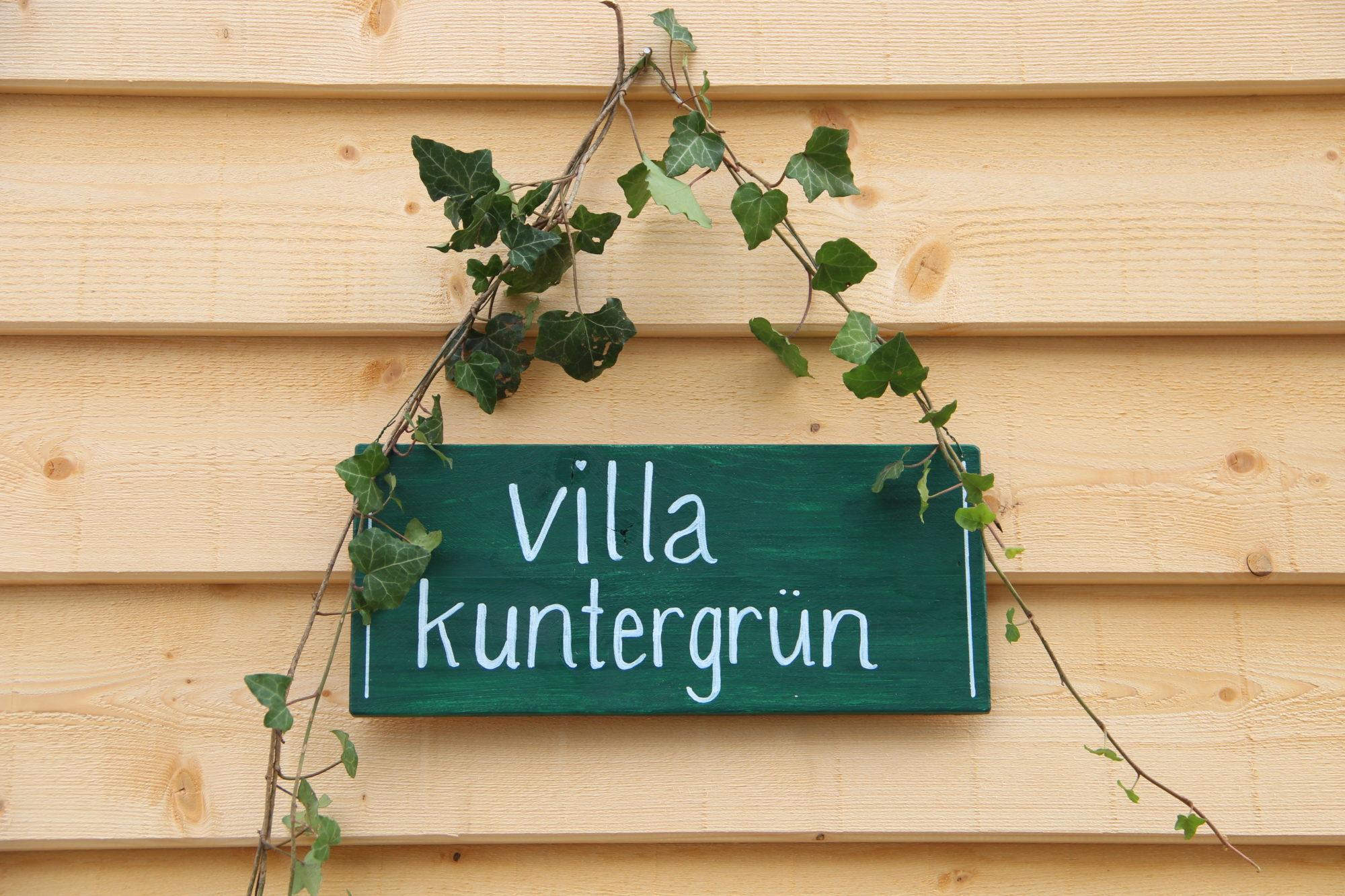 Unser Tiny House bekommt seinen Namen