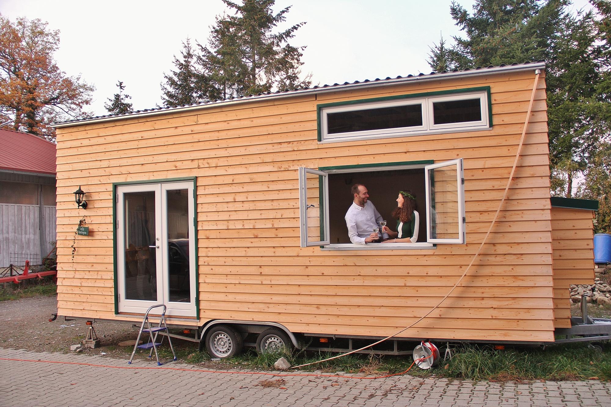 Tiny House Villa Kuntergrun Sucht Einen Stellplatz Concection