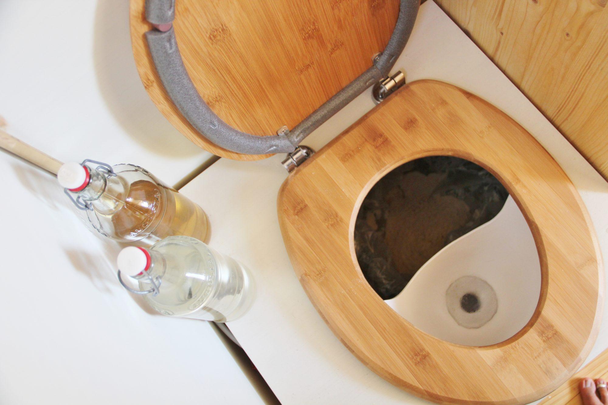 Trockentrenntoilette im Tiny House: Anwendung und Verbesserung