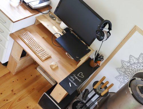 Tiny House Arbeitsplatz: Büro auf kleinstem Raum