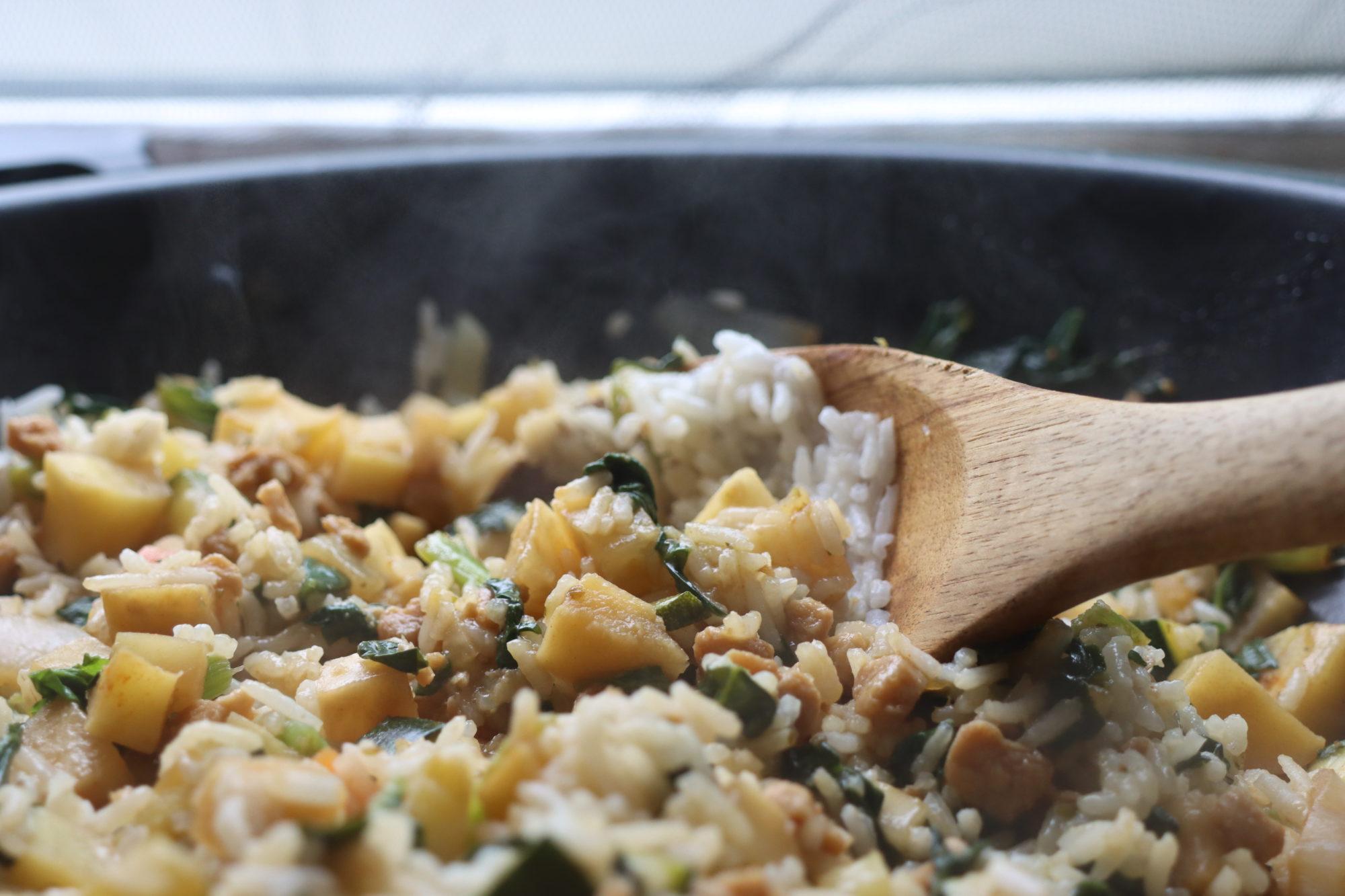 vegan, Reis, Pilaw, orientalisch, gesund