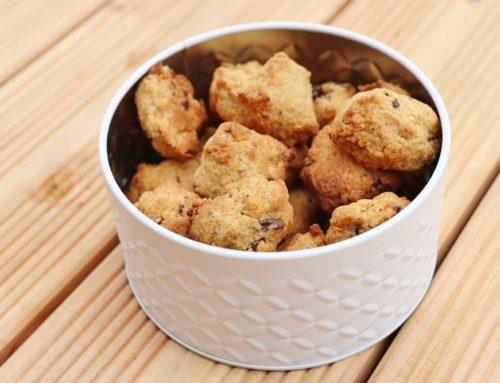 Schoko-Orangen-Cookies (vegan)