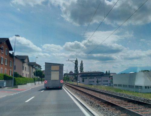 Tiny House von Deutschland in die Schweiz umziehen