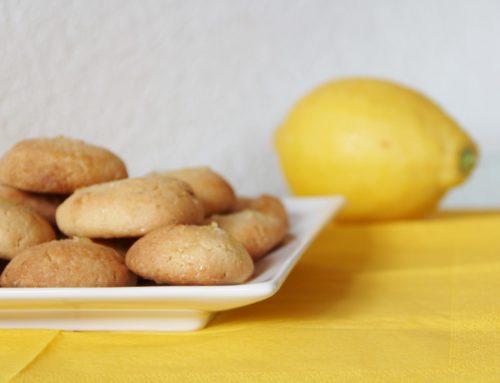 Zitronen-Ingwer-Cookies (vegan, zuckerfrei)