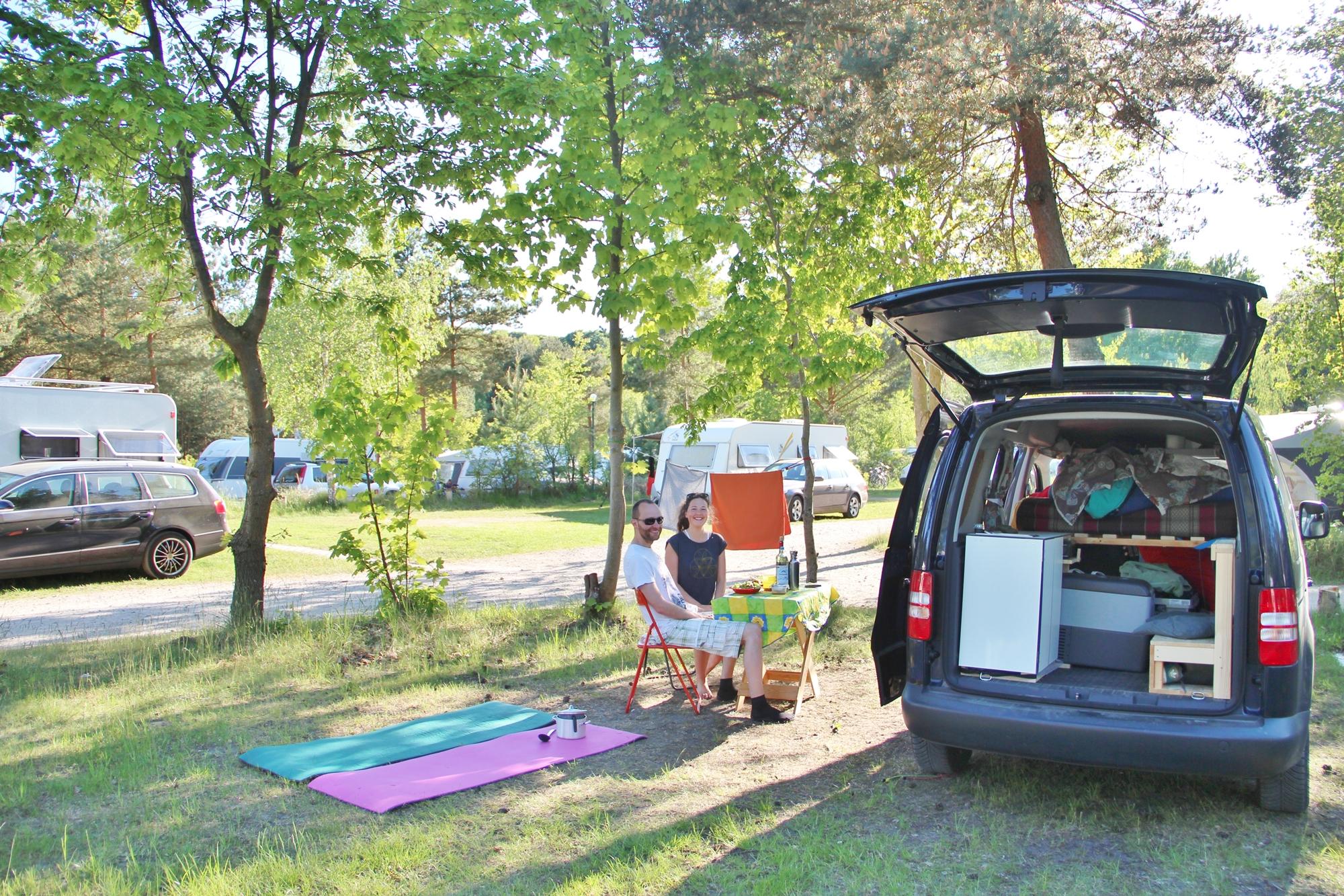 nachhaltig campen