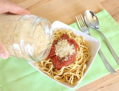 Veganer Parmesan aus nur 2 Zutaten