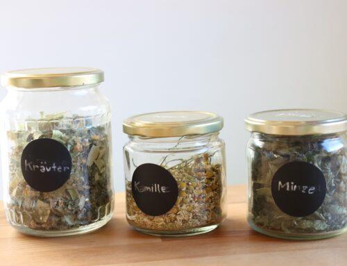 Selbstversorgung mit Tee & Kräutern in 9 3/4 Schritten