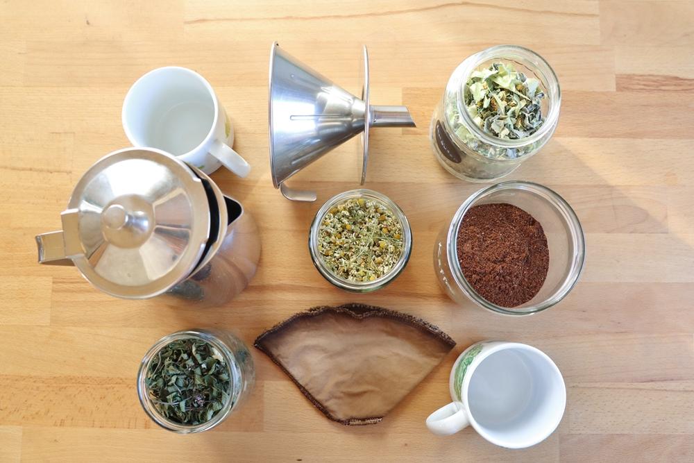 Zero Waste Kaffee und Tee