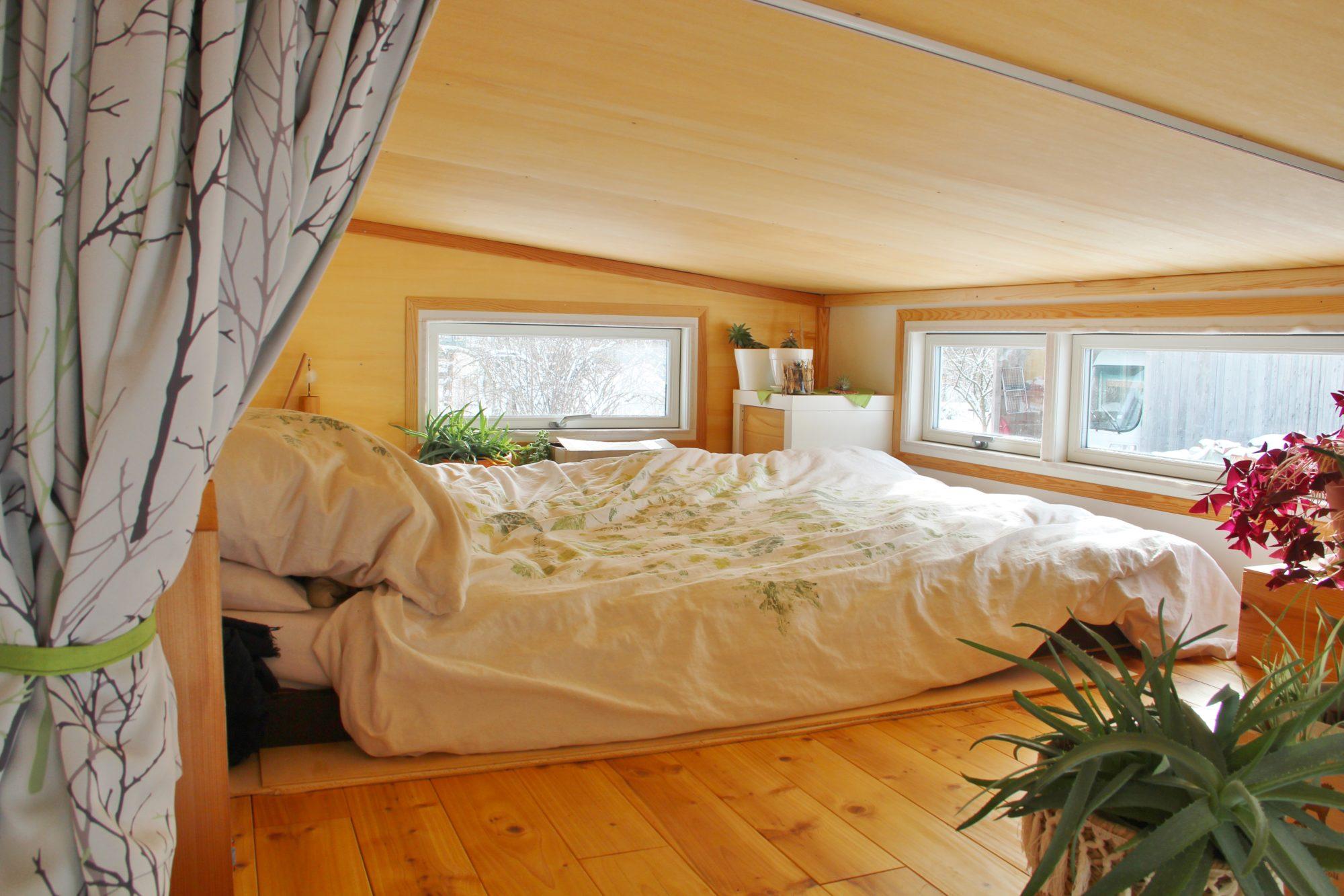 Tiny House Schlafzimmer