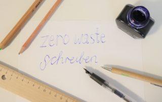 Zero Waste Schreibutensilien
