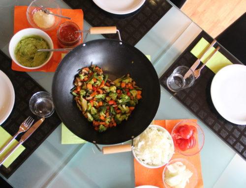 Fajitas & Tortillas selber machen (vegan, Zero Waste)