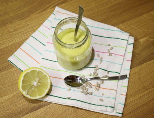 Vegane Mayo ohne Soja selber machen (Zero Waste)
