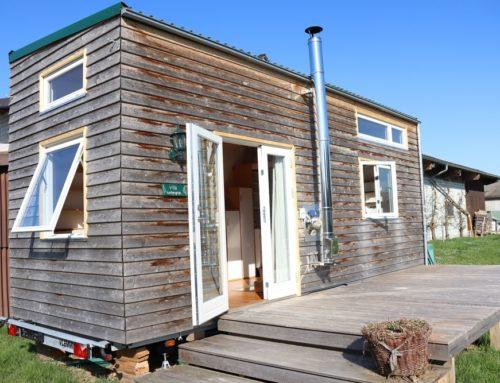 "Tiny House ""Villa Kuntergrün"" zu verkaufen"