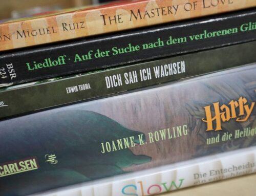 9 3/4 Bücher, die mein Leben verändert haben