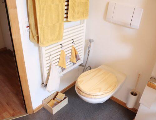Klopapierfrei im Selbstversuch mit Po-Dusche und Handtücher
