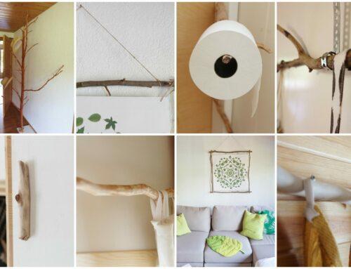 Aus Ästen: 6 DIY Projekte, die dein Zuhause verschönern
