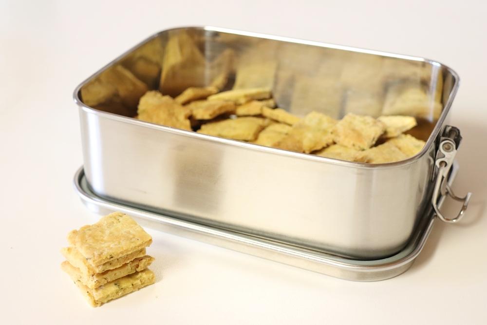Cracker vegan selber backen2